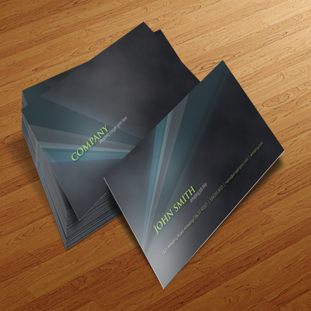 cursive q designs business card template � amazing
