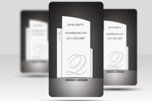 BusinessCard_Black_Pillar_Preview
